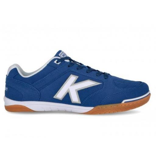 Zapatillas Kelme Fútbol Sala Precision Azul Royal/Blanco