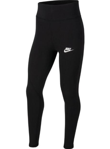 Malla Nike NSW Favorites GX High Waist Legging Negro Niña