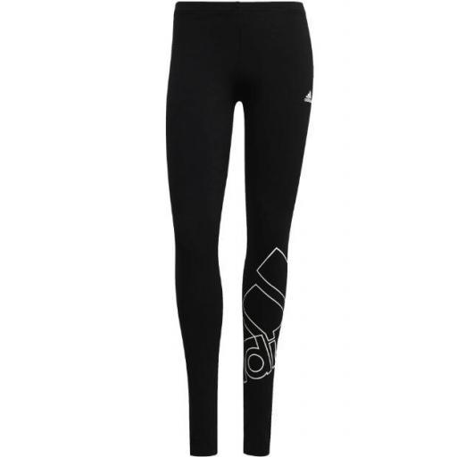 Malla Adidas Favorites Logo Legging Negro/Blanco
