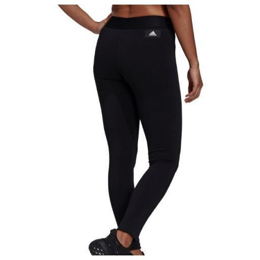 Malla Adidas W Future Icons 3 Bandas Legging Negro/Blanco [2]