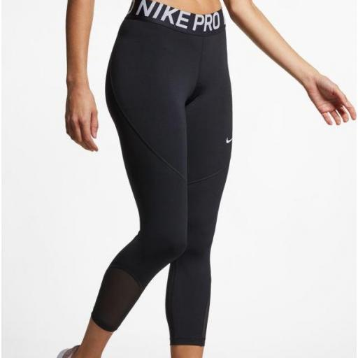 Legging Nike Pro Capri Crop Malla Deporte [2]