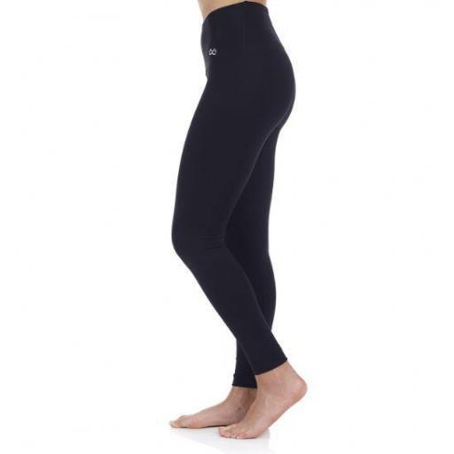 Ditchil Malla Larga Genuine Leggings Negro [1]