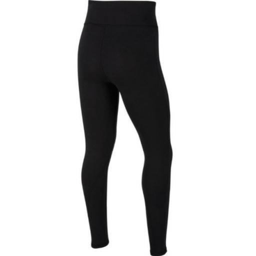 Malla Nike NSW Favorites GX High Waist Legging Negro Niña [1]