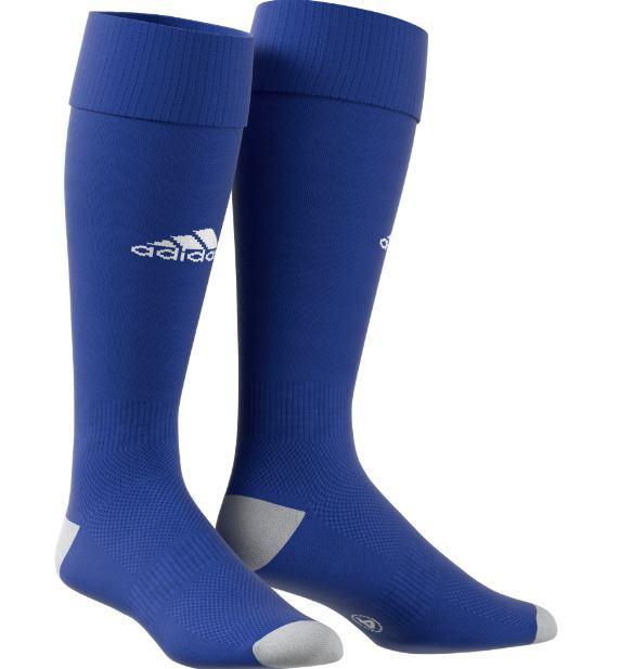 Medias Fútbol Adidas Milano 16 Azul Blanca