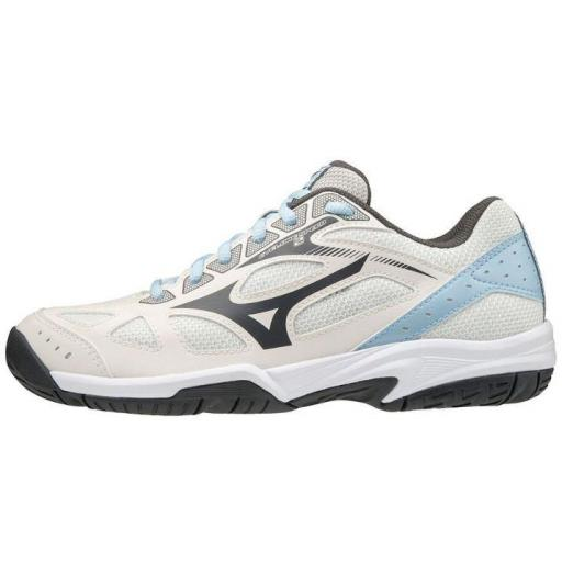 Zapatillas Mizuno Cyclone Speed 2 Indoor Blanco/Beige/Celeste