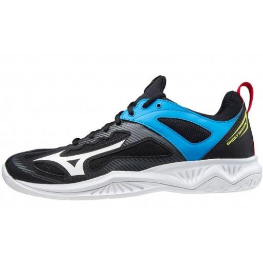 Zapatillas Mizuno Ghost Shadow Indoor Negro/Azul