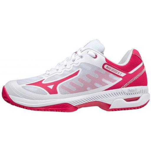 Zapatillas Mizuno Wave Exceed SL2 Tenis/Padel Mujer Blanco/Rosa
