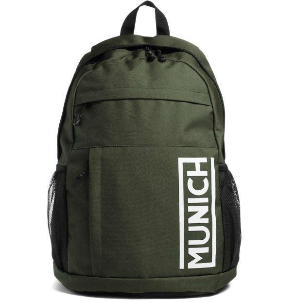 Mochila Munich Backpack Slim Verde Kaki