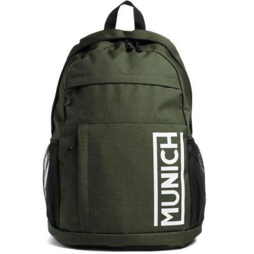 Mochila Munich Backpack Slim Verde Kaki [0]