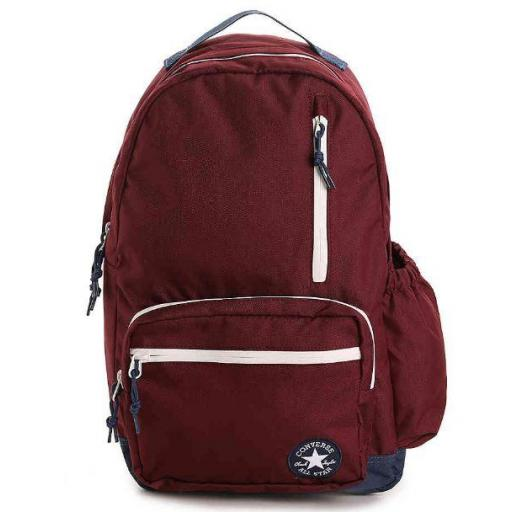 Mochila Converse Go Backpack Granate Burdeos