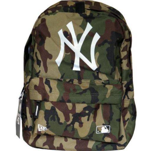 Mochila New Era MLB Stadium Pack New York Yankees Camuflaje [1]