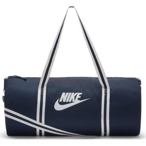 Bolsa Deporte Nike Heritage Duffel Bag Azul Marino/Blanco