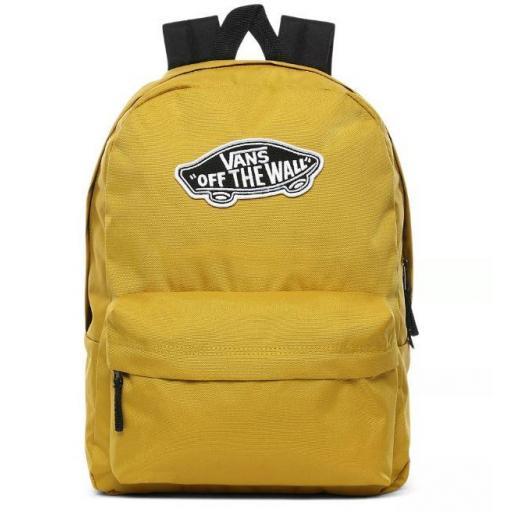 Mochila Vans Realm Backpack Amarilla y Negra