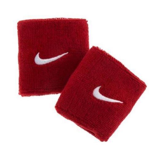 Muñequeras Nike Swoosh Wristband Rojo [1]