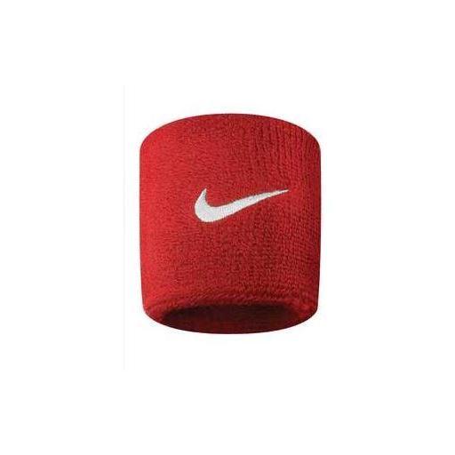 Muñequeras Nike Swoosh Wristband Rojo [2]