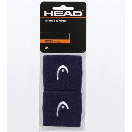 """Muñequeras HEAD Wristband 2.5"""" [1]"""