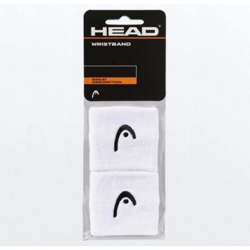 """Muñequeras HEAD Wristband 2.5"""" [2]"""