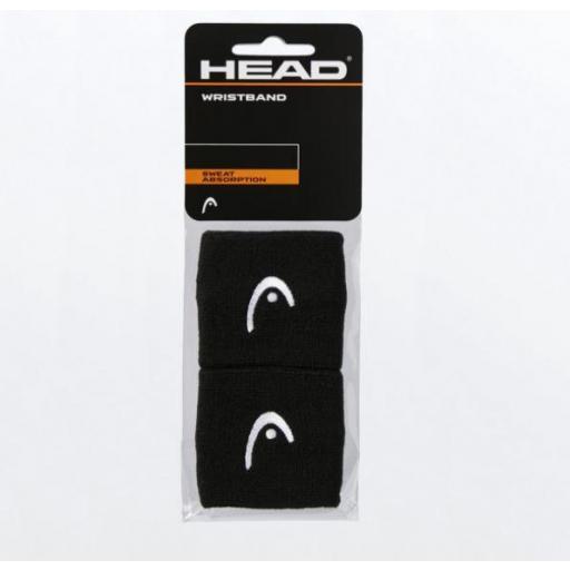 """Muñequeras HEAD Wristband 2.5"""" [3]"""
