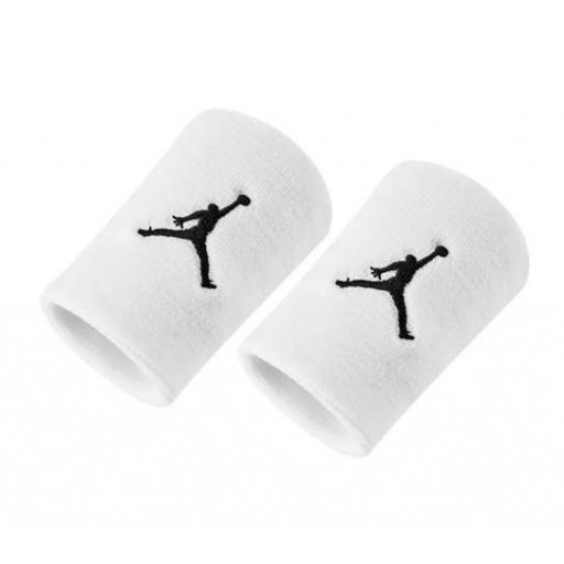 Muñequeras Nike Jordan Jumpman Wristbands Blanca
