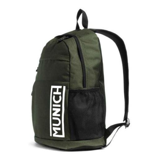 Mochila Munich Backpack Slim Verde Kaki [1]
