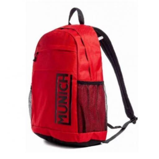 Mochila Munich Backpack Slim Gym Roja
