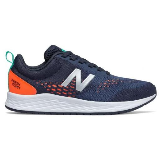 Zapatillas New Balance Fresh Foam Arishi v3 Azul/Naranja