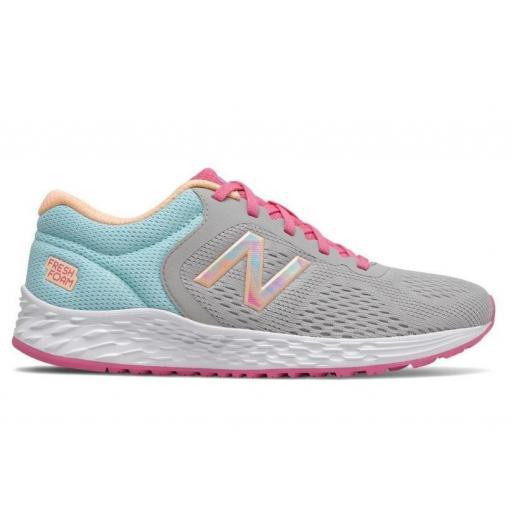 Zapatillas New Balance Arishi v2 Running Gris/Rosa/Azul