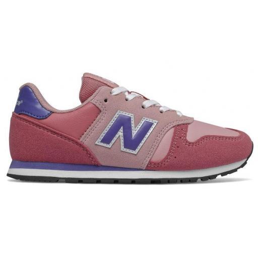 Zapatillas New Balance 373 Niña Rosa/Morado yc373kpp