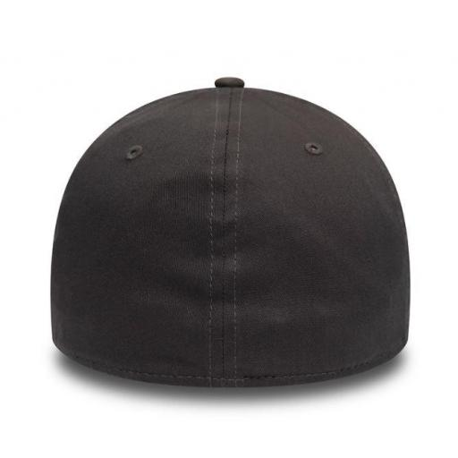 New Era Gorra Los Angeles Dodgers Essential 39Thirty Gris Oscuro [1]