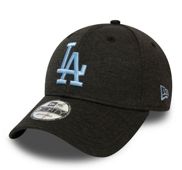 New Era Gorra Shadow Tech 9 40 Los Angeles Dodgers Negro/Celeste