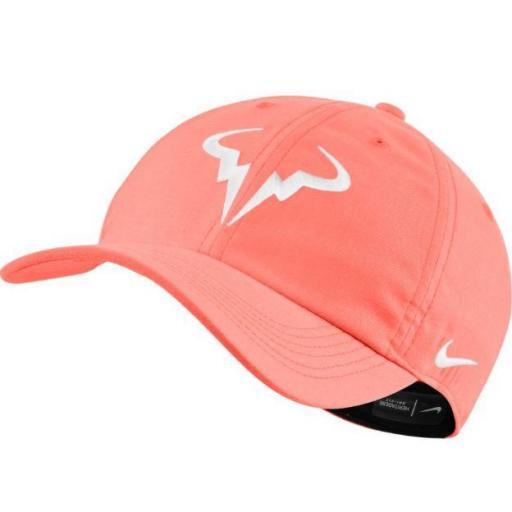 Gorra Nike Court Rafa Nadal AeroBill H86 Tenis Naranja