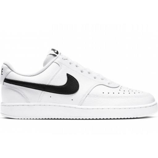 Nike Zapatillas Court Vision Lo Blanco/Negro