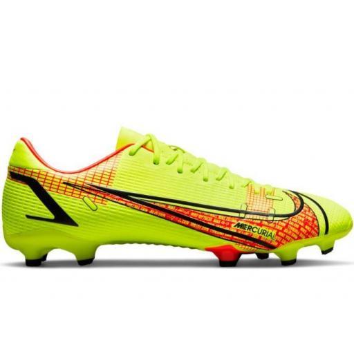 Botas Fútbol Nike Mercurial Vapor 14 Academy FG/MG Volt