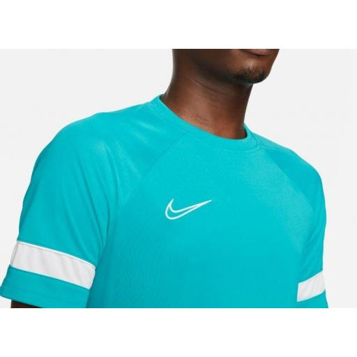 Camiseta Nike Academy Dri-FIT 21 Top Verde Agua [1]