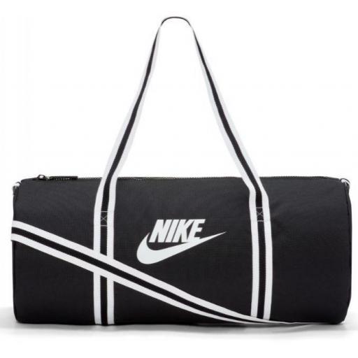 Bolsa Deporte Nike Heritage Duffel Bag Negro/Blanco