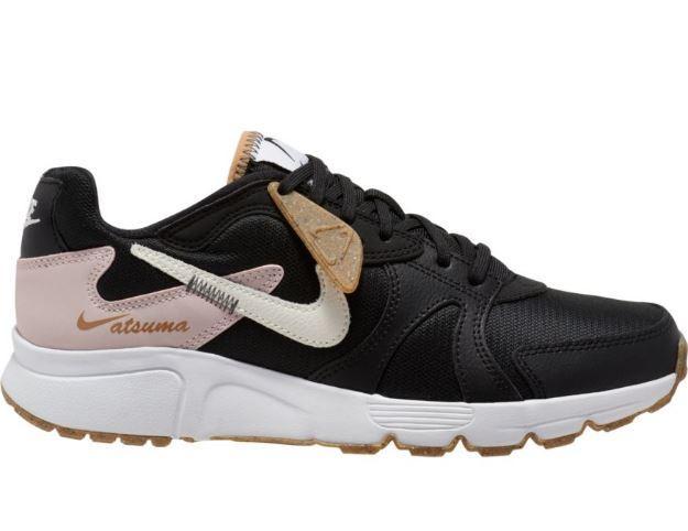 Zapatillas Nike Womens Atsuma Negro/Blanco/Rosa