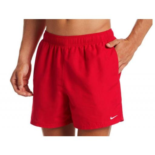 "Bañador Nike Swim Essential Volley 5"" Short Rojo"
