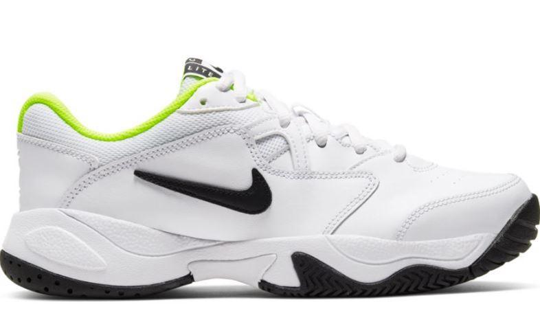 Zapatillas Nike Court Lite 2 Junior Tenis Blanco