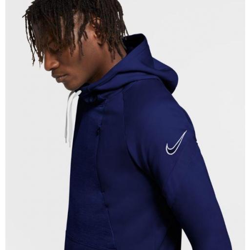 Sudadera Nike Dri-FIT Academy Hoodie PO Azul [1]