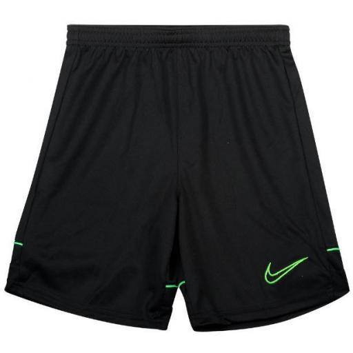 Pantalón Corto Nike Academy Dri-FIT Niño Negro/Verde