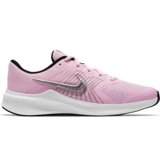 Zapatillas Nike Downshifter 11 GS Rosa