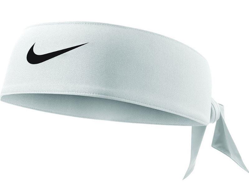 Bandana Nike Dri-FIT Head Tie 3.0 Blanca