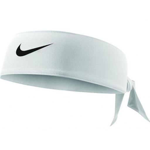 Bandana Nike Dri-FIT Head Tie 3.0 Blanca [0]