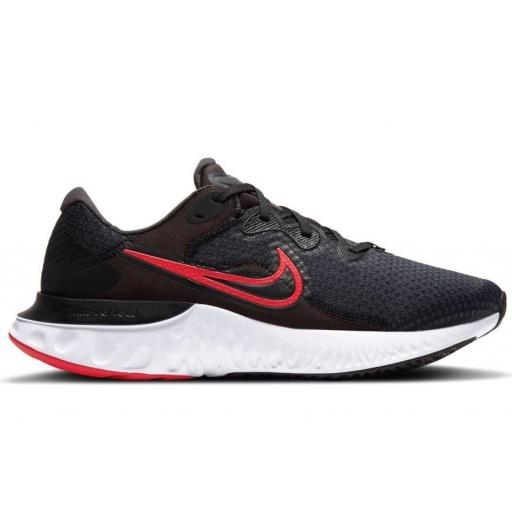 Zapatillas Nike Renew Run 2 Negro/Rojo