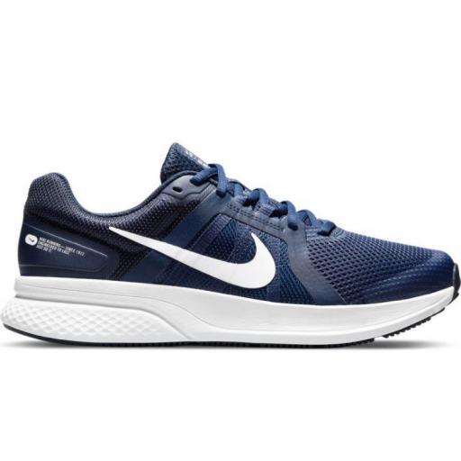 Zapatillas Nike Run Swift 2 Azul Marino/Blanco