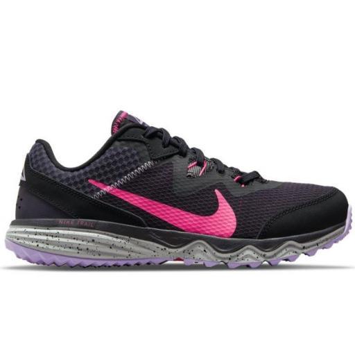 Zapatillas Nike Juniper Trail Running Mujer Negro/Rosa