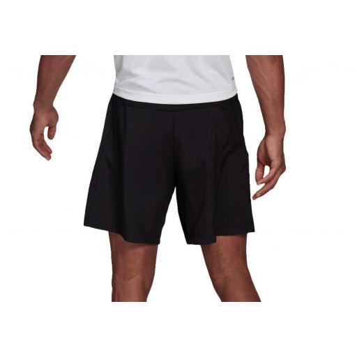 Pantalón Corto Adidas AeroReady Woven Short D2M Negro [2]