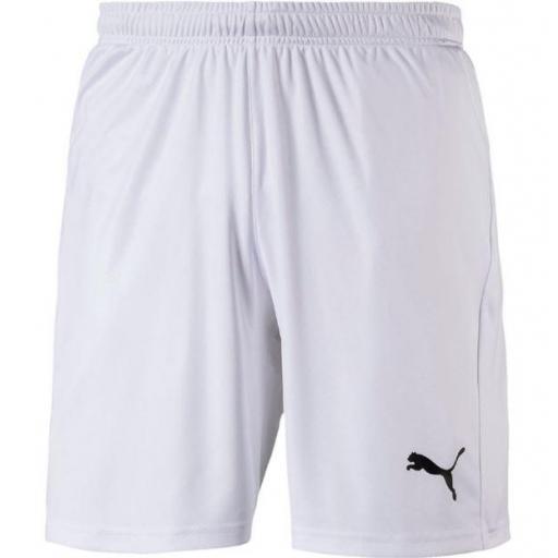 Pantalón Corto Puma Liga Shorts Core Blanco