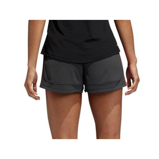 Pantalón Corto Adidas 3S Knit Pacer Short Gris [2]