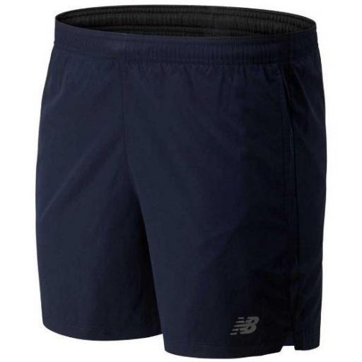 New Balance Pantalón Corto Accelerate 5IN Short Azul